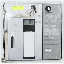 HOMETRENDS SUPER SLIM BODY FAT/HYDRATION DIGITAL