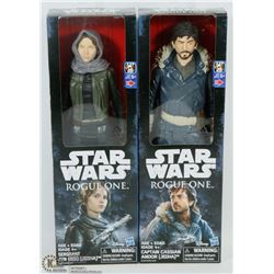 TWO NEW STAR WARS ROGUE ONE ACTION FIGURES