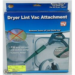 "NEW 43"" LONG DRYER LINT VAC ATTACHMENT"