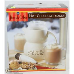 NEW FRENCH CAFÉ HOT CHOCOLATE MAKER -