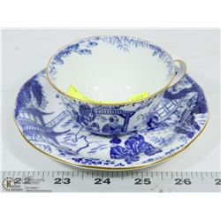 ROYAL CROWN DERBY MIKADO PATTERN CUP & SAUCER
