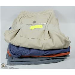 LOT OF 5 PAIRS OF SIZE 38 MENS SHORTS