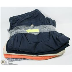 LOT OF 5 PAIRS OF SIZE 42 MENS SHORTS