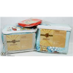 BOX OF DUVET COVERS QUEEN SIZE AND MORE