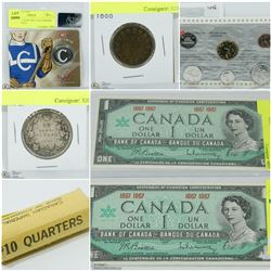 FEATURED ITEMS: COINS AND CURRENCY!