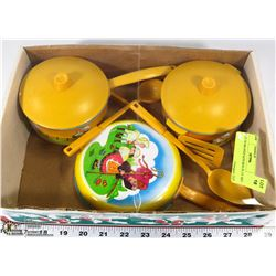 CHILDS BO-PEEP KITCHEN PLAY SET