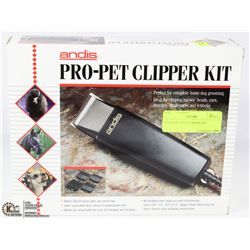 ANDIS PRO-PET CLIPPER KIT