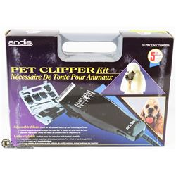 ANDIS PET CLIPPER KIT