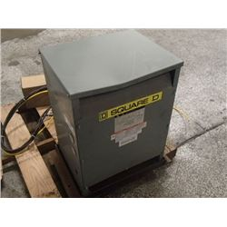 Square D, 15KVA Three Phase Transformer, P/N: EE15T6H