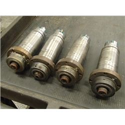 """Spindle Units, Overall: 11"""" x 3.75"""" x 3.75"""""""