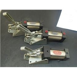 Destaco Pneumatic Clamps, 3 Total