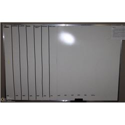 "LARGE WHITEBOARD 72"" X 48"""