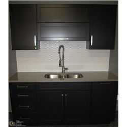 NEW UPPER & LOWER CABINET UNIT INCLUDES COUNTERTOP,
