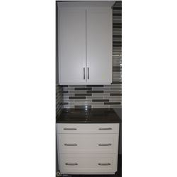 UPPER & LOWER CABINET UNIT SECTION