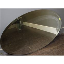 OVAL BEVELED EDGE MIRROR 36X25