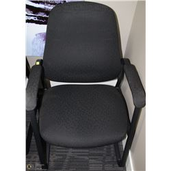 BLACK HIGHBACK OFFICE CHAIRS