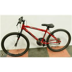 HUFFY GRANITE 18 SPEED MOUNTAIN BICYCLE