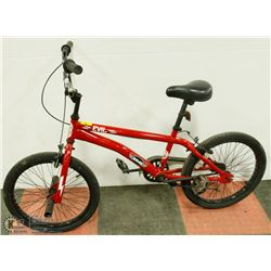 SIMS EVIL BMX BIKE WITH FRONT PEGS