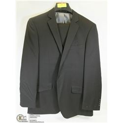 2PC BELLISSIMO BLACK SUIT 42T JACKET 36L PANTS,