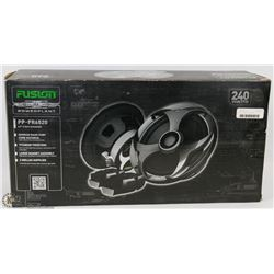 "FUSION 240W 6.5"" 2 WAY SPEAKERS"