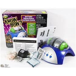 EDUSCIENCE ROCK TUMBLER WITH INSTRUCTIONS