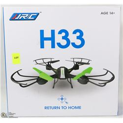 NEW H33 REMOTE CONTROL DRONE WITH RETURN TO HOME