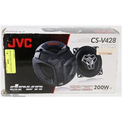 "JVC DRVN 200W 4"" 2-WAY SPEAKERS"