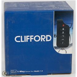 CLIFFORD 1-WAY REMOTE START KIT