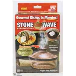 NEW STONEWAVE MICROWAVE COOKER WITH