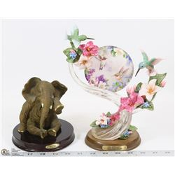 RUBY'S COLLECTION ELEPHANT SOLD WITH