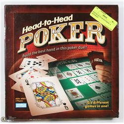 NEW HEAD-TO-HEAD POKER - 6 DIFFERENT