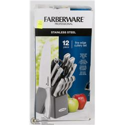 FARBERWARE PROFESSIONAL 12PC STAINLESS STEEL