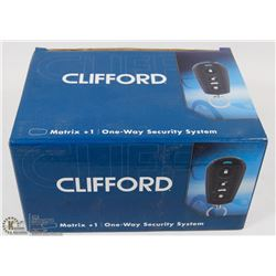 CLIFFORD ONE-WAY SECURITY SYSTEM KIT