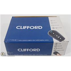 CLIFFORD 1-WAY REMOTE ENGINE START WITH