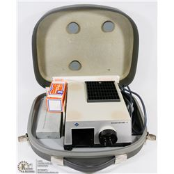 1960S AGFA 5X5CM DIAMETER SLIDE PROJECTOR WITH