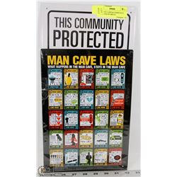 MAN CAVE LAWS & COMMUNITY PROTECTED BY BRUCE