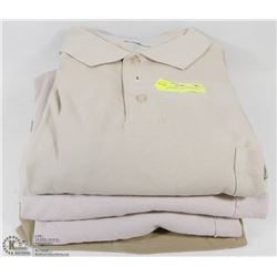 LOT OF 4 DANIEL HECHTER MENS  SHIRTS
