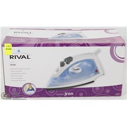 NEW RIVAL STEAM IRON