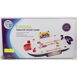 TUNDRA TABLE TOP HOCKEY GAME BATTERY OPERATED,