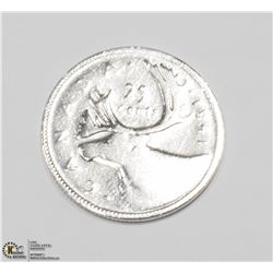 17) CANADIAN SILVER COIN