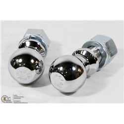 """LOT OF TWO 2-5/16"""" HITCH BALLS"""