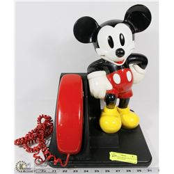 1990S EDITION MICKEY MOUSE PUSH BUTTON TELEPHONE