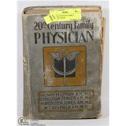 1918 20TH CENTURY FAMILY PHYSICIAN BOOK