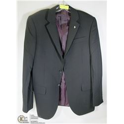 GRAFTON BLACK SUIT JACKET SIZE 40T