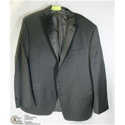 CALVIN KLEIN BLACK SUIT JACKET SIZE 48R  100% WOOL