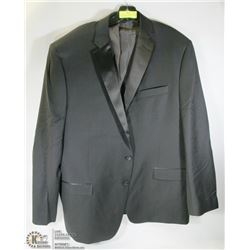 CALVIN KLEIN BLACK SUIT JACKET SIZE 50R  100% WOOL