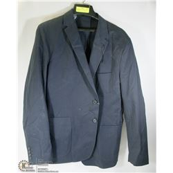 BELLISSIMO SIZE 44R NAVY SUIT JACKET