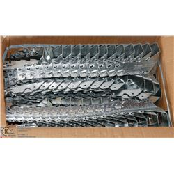NEW BOX OF JOINT HANGERS, 2 BY 6 – 8, 100 PIECES