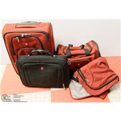 SWISS ARMY LUGGAGE: SUITCASE, CARRYON BAG, SUIT