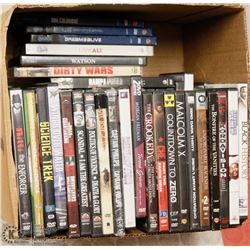BOX WITH 50 DVD'S